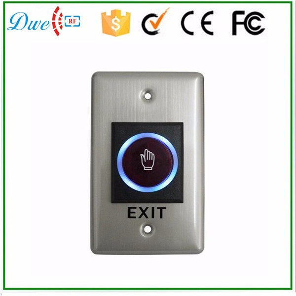 24V IR no touch switch with led indication infrared sensor exit button