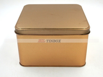 Square Metal Tin Can for Food Packing