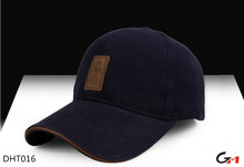 6 panels cotton ajustable bulk custom logo plain baseball caps for men