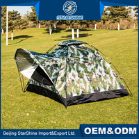 Hot Durable Front Hall Outdoor Camping Tents 1-2 People Waterproof Custom Festival Carnival Tent