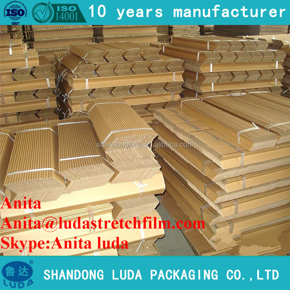 Competitive Price Cardboard Paper Corners /protective packaging materials