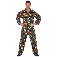 2017 new arrival army soldier costume