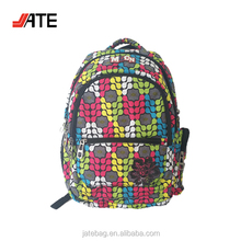 "18"" Backpack Polyester, Laptop Compartment Backpack for Travel, Custom Sublimation Backpack"