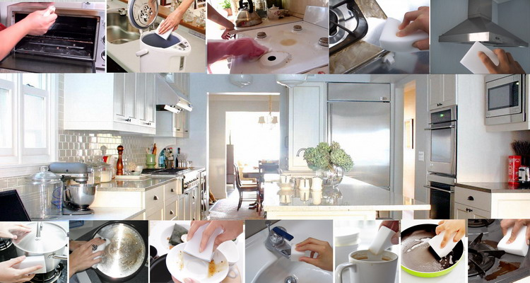 Dish Clean Washing Sponges Melamine Kitchen Cleaning New Products In 2018