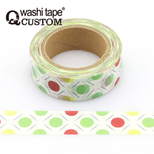 Wonderful!!!Big Dots Japanese Rice Paper Adhesive Tape
