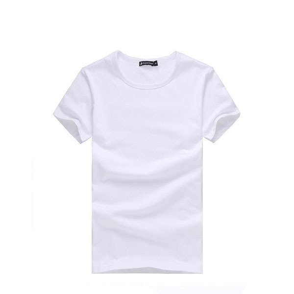 Alibaba Popular Plain Cotton T-shirts For Men With Your Custom Logo