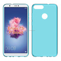 clear Transparent soft mobile phone case for Huawei enjoy 7s p smart tpu back cover