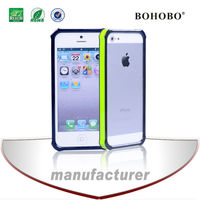 TPU+PC eins plus eins bumper mobile phone case protection for iphone5