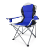 popular steel 600D fabric folding camping chair with carrybag