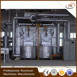 Energy conservation LPG and GAS fired aluminum recycling machinery