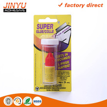 high viscosity Instant liquid super glue adhesive universal bonds new quality 12 pack one shot