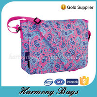 600D custom printed cheap shoulder bags for women