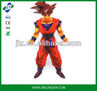 PVC 3D dragon ball character figurine