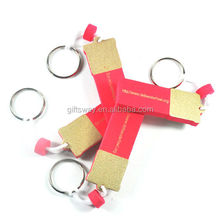 Guangzhou gifts factory price New products cute custom printing cheap EVA keychain