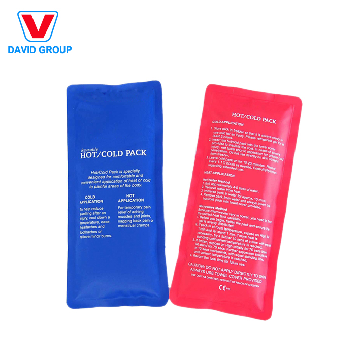 Personal care reusable pain-killing nylon hot cold pack