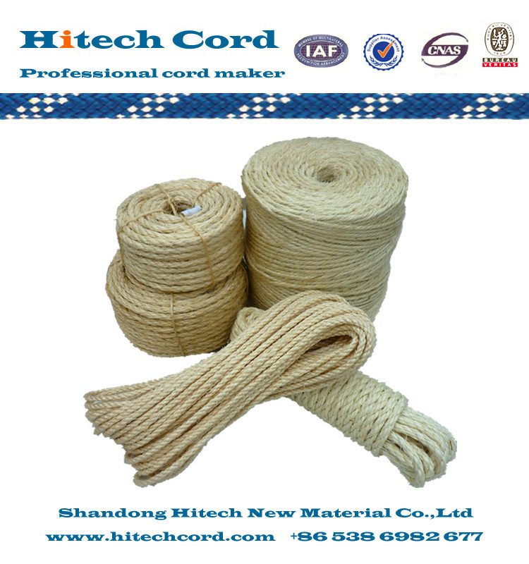 Factory Price 3mm to 36mm Sisal Rope