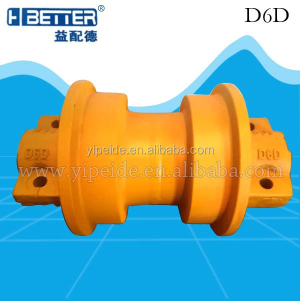 Earth Moving Machine Bulldozer Undercarriage Parts D6D Track Roller