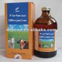 Florfenicol 10% injection poultry medicine,florfenicol 100 for poultry