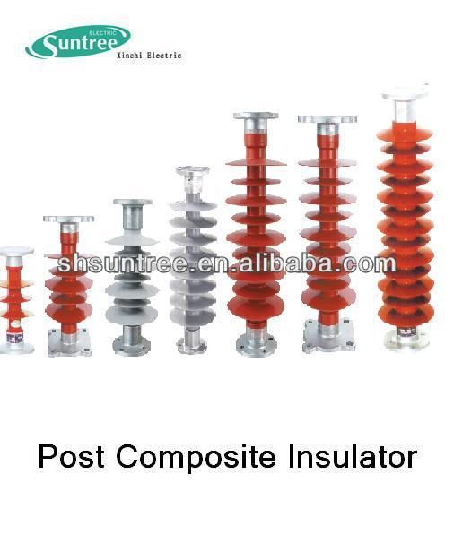 Power station with 66kV Post Composite Insulator