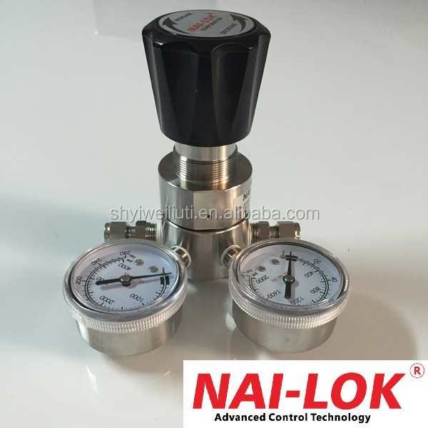 Single Stage gas pressure regulator