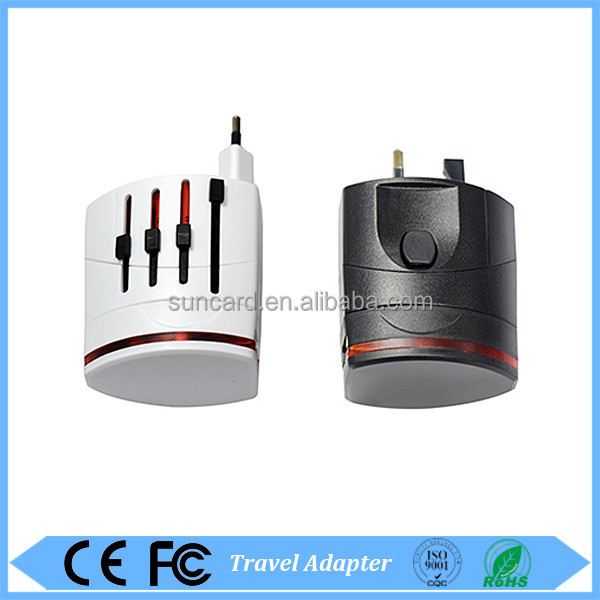 Newest design high quality portable usb universal travel adapter