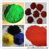 Concrete floor coatings iron oxide pigment