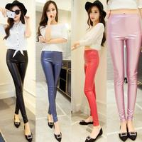 zm11110a spring new style fashion women's leather legging pants
