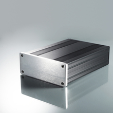 YGS-018 145*54*200 mm (w*h*l) Full aluminum Power amplifier chassis/AMP case Enclosure / headphone AMP box PSU box