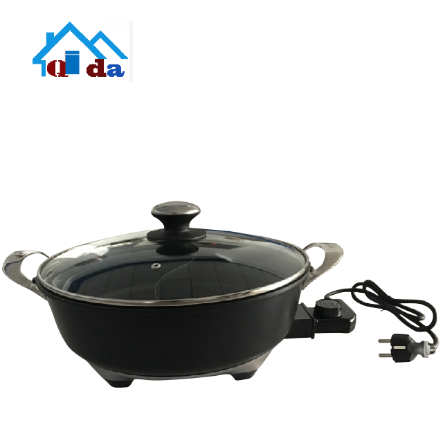 New 2018 cooking insulated hot pot casserole set cooking Tai Chi electric hot pot