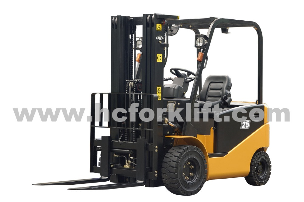 HANGCHA J series 4 wheel 1/1.5/1.8/2/2.5/3/3.5 ton small electric forklift