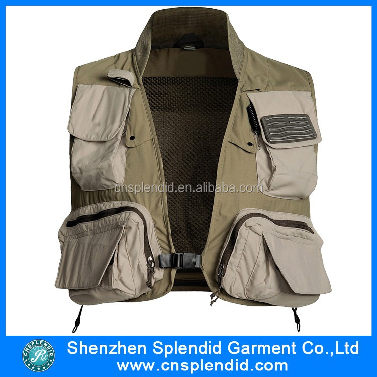 newest design photographer vest for men high quality