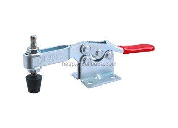 Horizontal U Bar Flanged Base Portable Metal Toggle Clamp Quick Clamp Hand Tool Clip GH-201-B