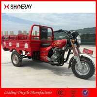 2015 New Product OEM Shineray Mini Chongqing Gasoline Cargo Scooter Motor Tricycle
