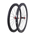 2017 Newest Design UD Matte OEM 50 mm Clincher 700C China Carbon Wheel