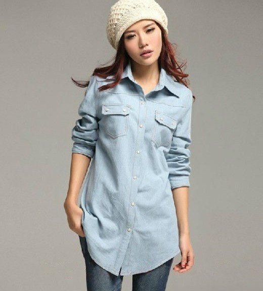 MAIN PRODUCT!! Top Quality latest shirt designs for women 2015