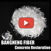 reinforcement concrete fiber additives pp micro/macro fiber