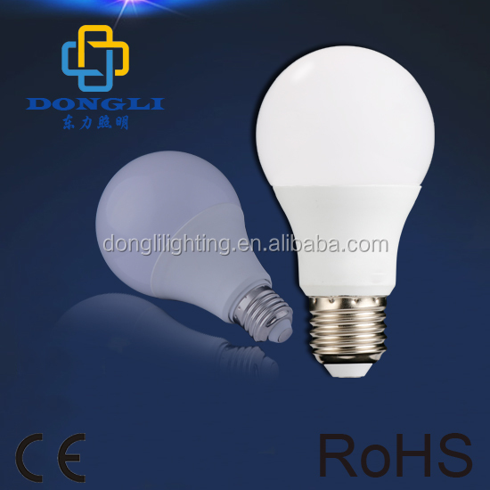 CE Approval Cool White 9W A70 E27 SMD LED Bulb for Indoor Using