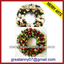 artificial pine wreaths wholesale poppy wreath cheap christmas decoration wreaths