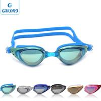 2017 gelang swimming glasses interchangeable lens racing swimming goggles