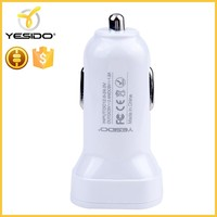Quick charge 2.0 car charger usb socket car charger for mobile phone