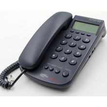 New design basic talking caller id corded phone with LCD screen