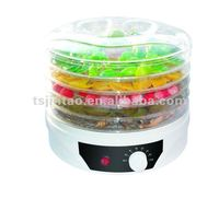 5 tray portable home use food dehydrator 220V with fan