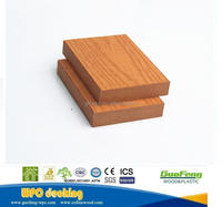 swimming pool wood plastic composite wpc decking skirting