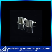 2016 new products wholesale fashion men jewelry black cufflink G0012