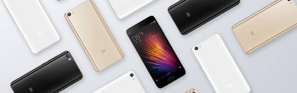 Original Multilanguage Xiaomi Mi 5/Mi 5 Prime/Mi 5 Pro 3+32/ 3+64/ 4+128