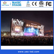 slim light full rgb smd video pixel pitch 6mm outdoor led screen