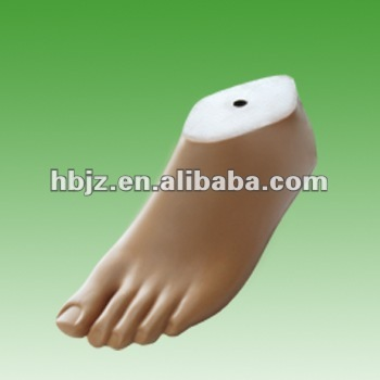 22-28cm polyurethane unmovable ankle foot orthosis with toe for adult