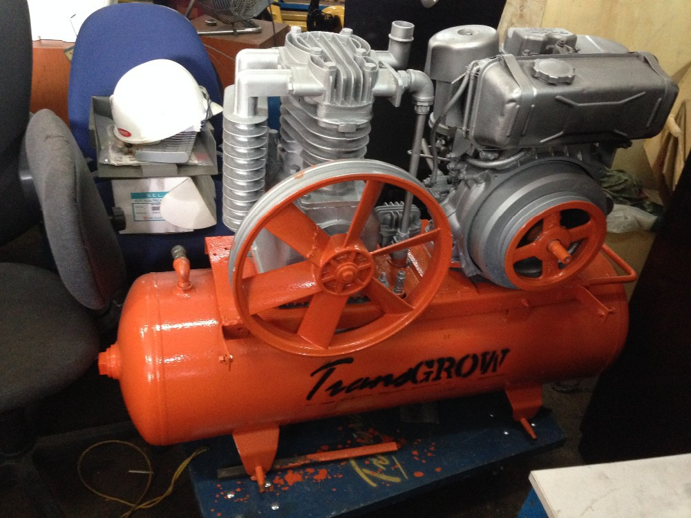 Used Diesel-Powered Air Compressor (Robin Engine) for Sale
