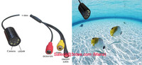 520tvl micro hidden underwater camera with led/ir lights(metal housing,glasses winddow)