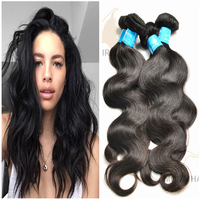 Good quality 7a grade natural color weave Vietanese body wave colorable human hair extension